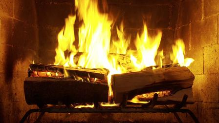 Nothing like a little festive music and nice crackling fire without all the smoke. No overheating here! Watch trailers & learn more.